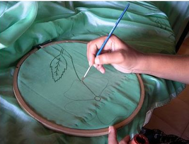 Tips for Fabric painting - gruhinii